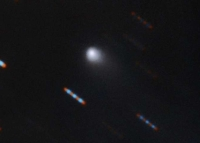 Interstellar comet