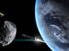 Asteroid reaching Earth